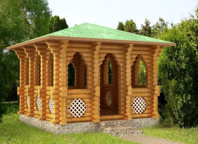 Садовые беседки и домики