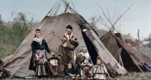 Палатки древних людей