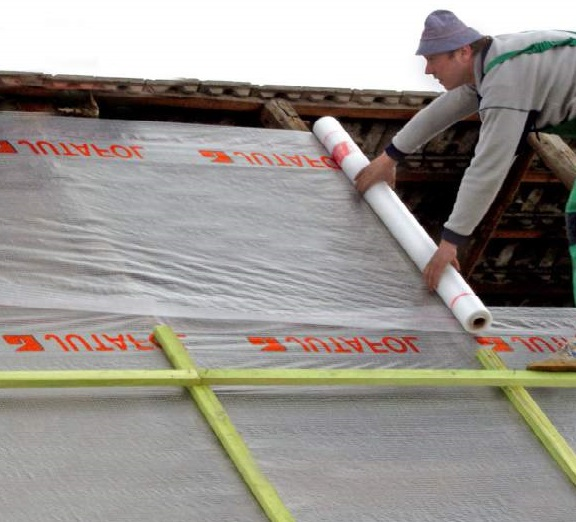 Гидроизоляции и пароизоляции крыши